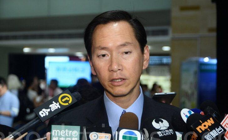 홍콩 행정회의 의장 버나드 찬(陳智思) | 에포크타임스