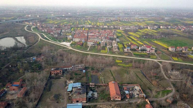 중국 후베이성의 한 마을 모습 | AFP=연합뉴스