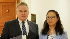 """중국인 여성, 남편 구명 위해 미국서 하원의원 면담…""""구출 도움 약속 받았다"""""""