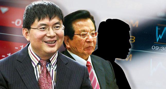 (왼쪽부터) 샤오젠화 밍톈그룹 회장, 쩡칭훙 전 부주석 | 에포크타임스