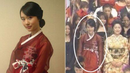 """""""무조건 기모노 입어야 된다""""는 일본 생방송에 '한복' 입고 출연한 대한민국 연예인"""