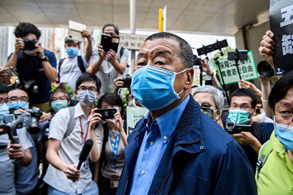 지미 라이 홍콩 빈과일보 사주 | Anthony WALLACE / AFP=연합뉴스
