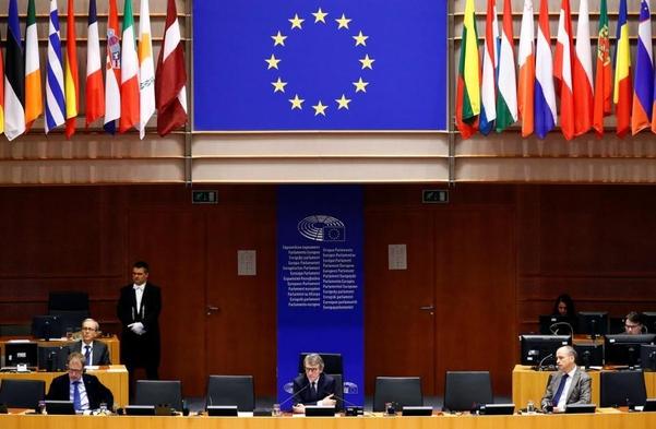 유럽연합(EU)이 홍콩 국가보안법을 제정한 중국에 대한 제재 방안에 지난달 28일(현지시각) 합의했다.   로이터=연합뉴스