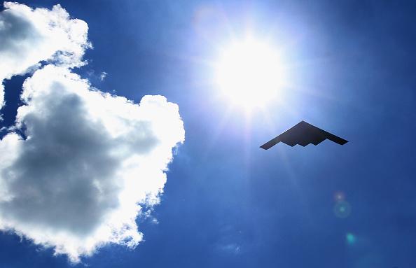 B-2 스텔스 전략 폭격기   Jonathan Daniel/Getty Images