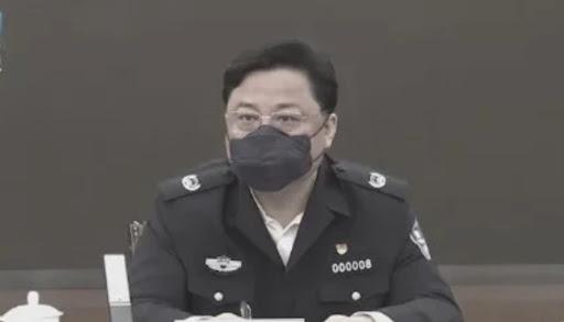 쑨리쥔 전 중국 공안부 부부장(차관)   허베이TV 화면 캡처