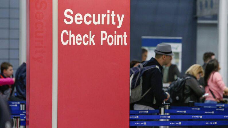 미국 시카고 오헤어국제공항 보안검색대 | AP=연합뉴스