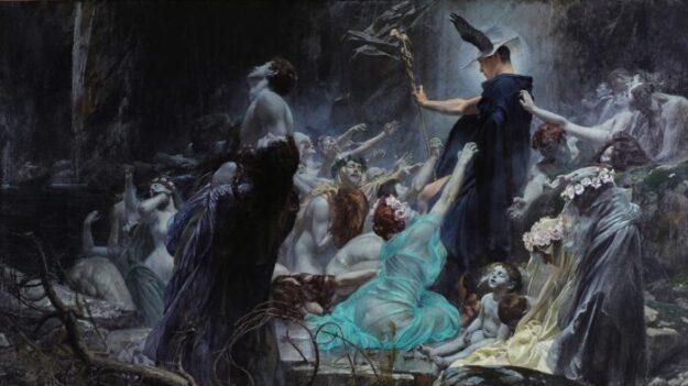 '아케론 강가의 영혼들' : 우리의 영혼이 신성함에 이를 수 있기를