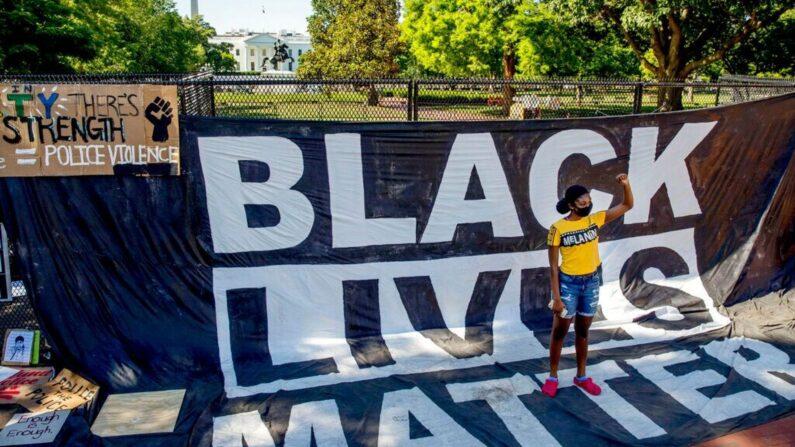 '흑인생명도 소중하다' 시위 | AP=연합뉴스