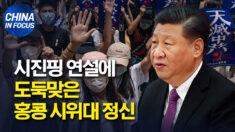 """시진핑 연설, 홍콩 시위 슬로건 표절.. """"민주화 정신 도용했다"""" 규탄"""