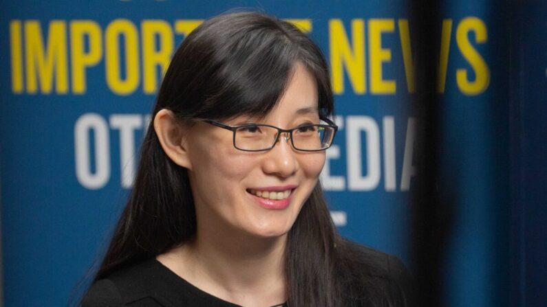 홍콩 출신의 바이러스 전문가인 옌리멍 박사 /에포크타임스
