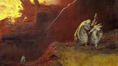 """""""악을 떠날 땐 뒤도 돌아보지 말라""""…존 마틴 작 '소돔과 고모라의 파멸' 감상"""