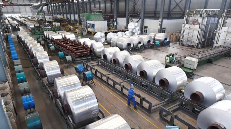 중국의 알루미늄 공장 | AFP=연합뉴스