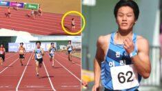 한국 체육 100년 만에 등장했다는 가장 빠른 초등학생 (영상)