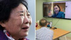 """""""널 버린 게 아냐"""" 시장서 잃어버린 3살 딸을 44년 만에 찾은 78세 엄마의 눈물"""