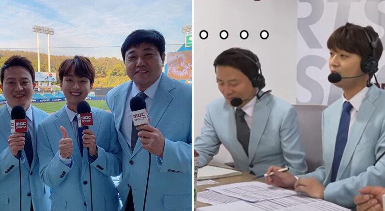 [좌] 이차원 인스타그램 [우] 유튜브 채널 'MBC Sports+'