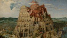 '바벨탑'…하늘에 닿으려는 인간의 자만심을 쪼개다