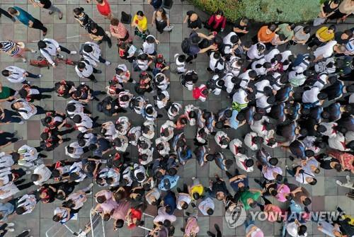 중국인 학생들 | 연합뉴스