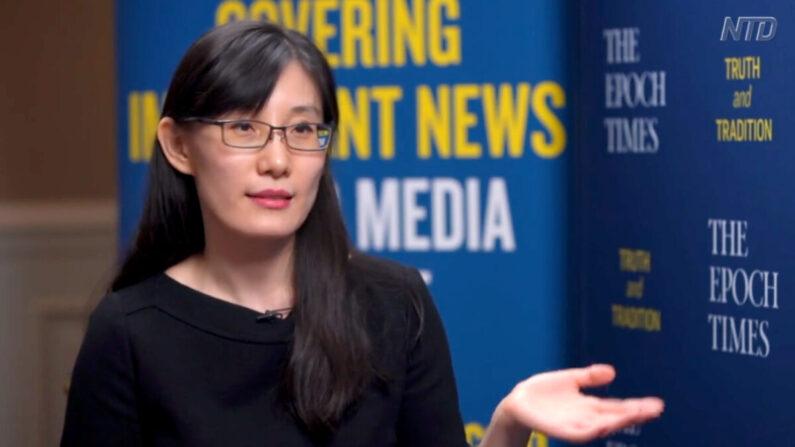 옌리멍 홍콩대 면역학 박사   에포크타임스