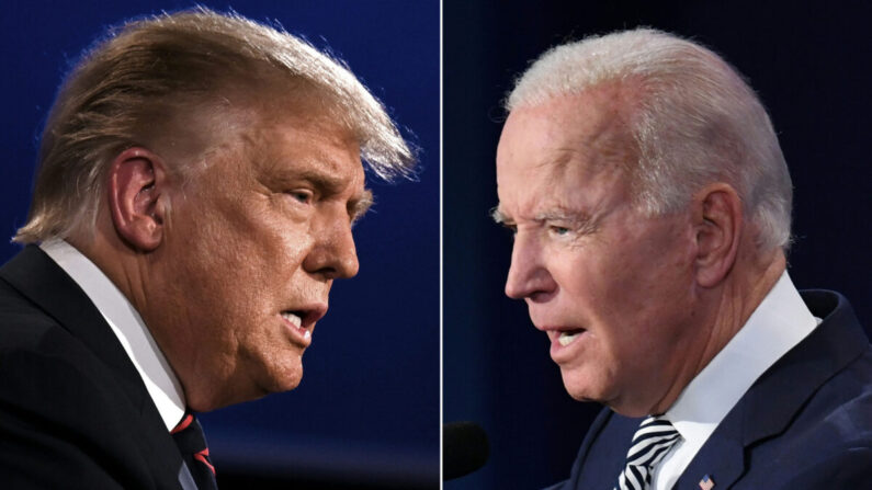미국 공화당 대선후보 도널드 트럼프 대통령(왼쪽)과 민주당 대선후보 조 바이든 전 부통령 | JIM WATSON,SAUL LOEB/AFP via Getty Images=연합뉴스