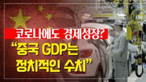 """경제 전문가 """"中 GDP는 정치적인 수치"""""""