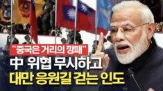 中 위협에 맞서 대만과 가까워지는 인도