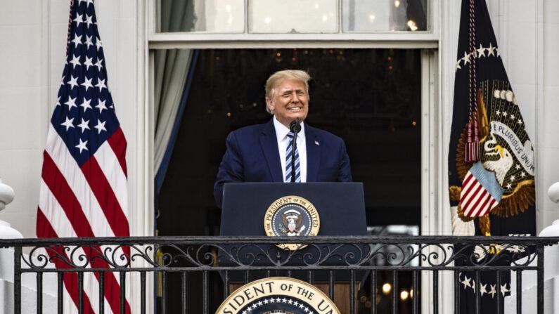 도널드 트럼프 미국 대통령 | Samuel Corum/Getty Images