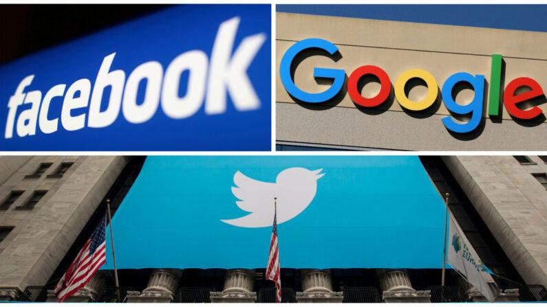 페이스북과 구글, 트위터 로고 | 로이터=연합뉴스
