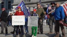 """펜실베이니아 시민들 """"그냥 선거 아냐…공산주의의 미국 위협"""""""