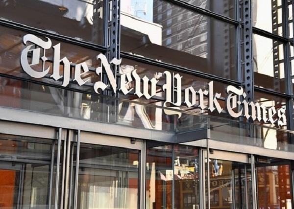 미국 맨해튼의 뉴욕타임스 사옥 | AFP·연합