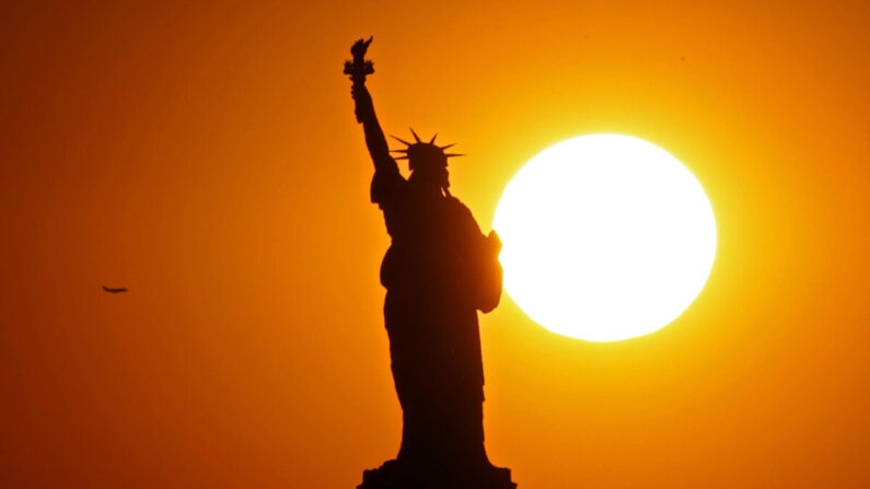 미국 뉴욕에 세워진 자유의 여신상 | Michael Heiman/Getty Images