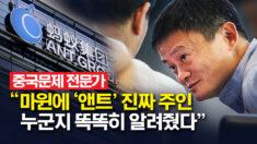 """中 당국 마윈 소환…전문가 """"앤트그룹 누구 것인지 드러냈다"""""""
