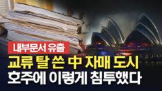"""내부 문서 단독입수, """"중국 자매도시, 호주에 이렇게 침투했다"""""""