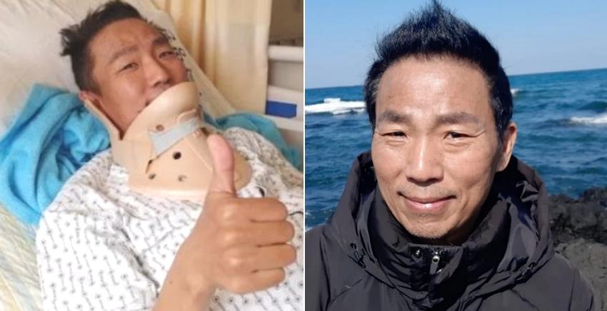 개 구충제까지 먹으면서 싸웠던 '폐암 말기' 김철민, 제주도로 마지막 여행 떠났다