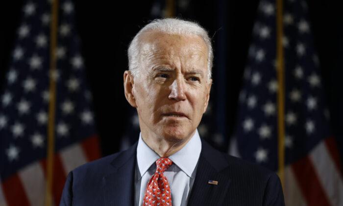 미국 대선 민주당 후보 조 바이든 전 부통령 | AP Photo/Matt Rourke=연합뉴스