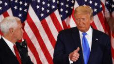 트럼프, 펜실베이니아·조지아·노스캐롤라이나 승리 선언