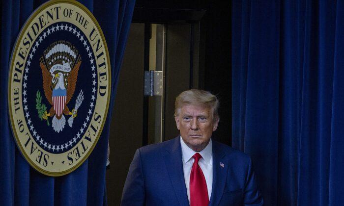 도널드 트럼프 미국 대통령   Tasos Katopodis/Getty Images