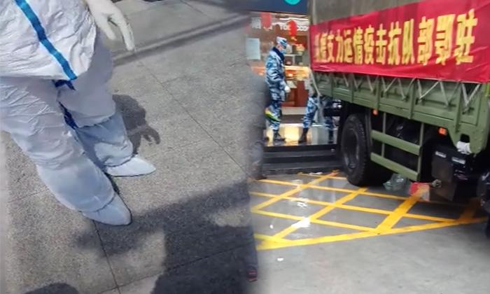 중국 시민기자 장전이 후베이성 우한에서 촬영한 영상   장전 유튜브 화면 캡처