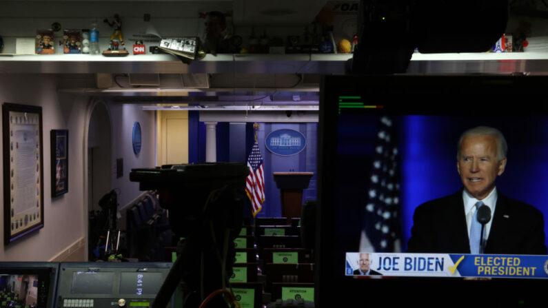 기사와 직접 관련 없는 자료사진.지난달 7일 백악관 기자회견장   Alex Wong/Getty Images