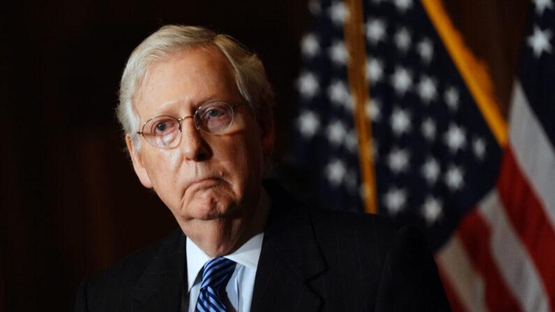 미국 공화당 미치 매코널 상원 원내대표 | Kevin Dietsch-Pool/Getty Images