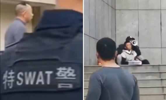 중국 쿤밍서 '사회불만' 50대 남성 인질극 벌이다 사살