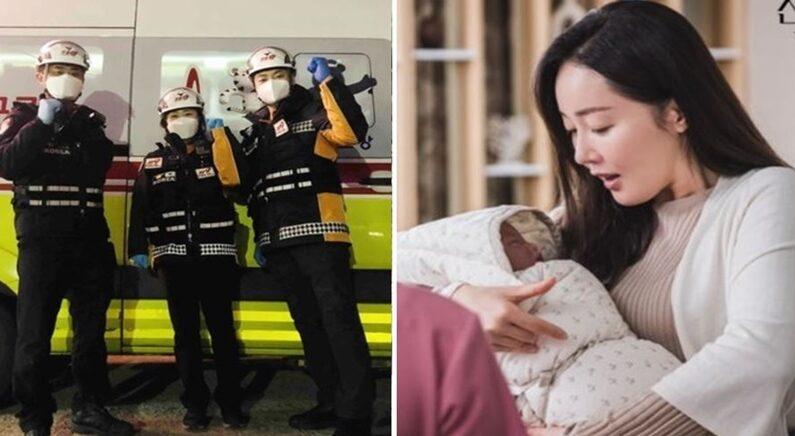 강원도소방본부 제공(좌), tvN '산후조리원'(우)