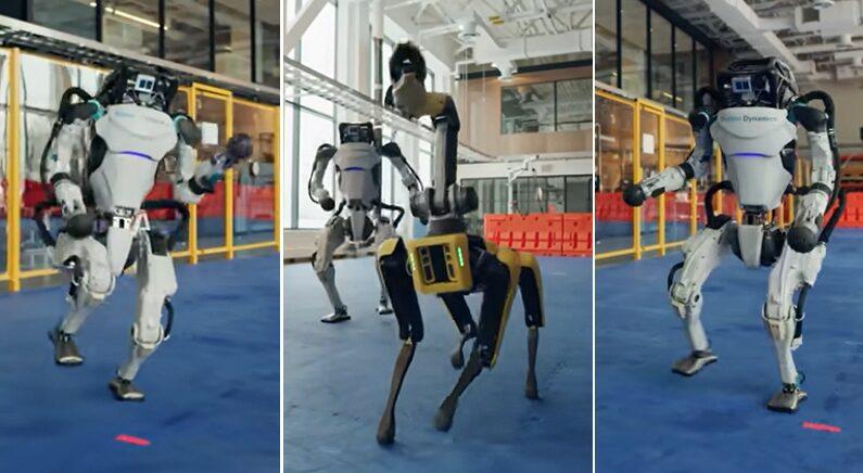 YouTube 'Boston Dynamics'