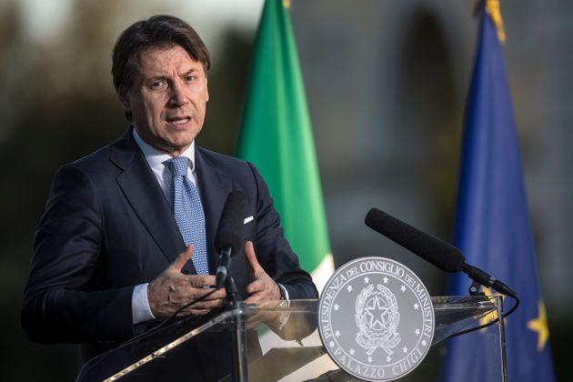 주세페 콘테 이탈리아 총리 |신화=연합