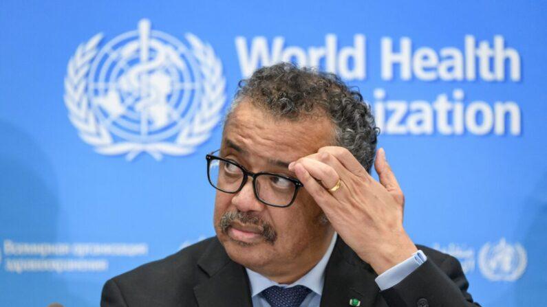 테드로스 아드하놈 게브레예수스 세계보건기구(WHO) 사무총장 | FABRICE COFFRINI/AFP via Getty Images