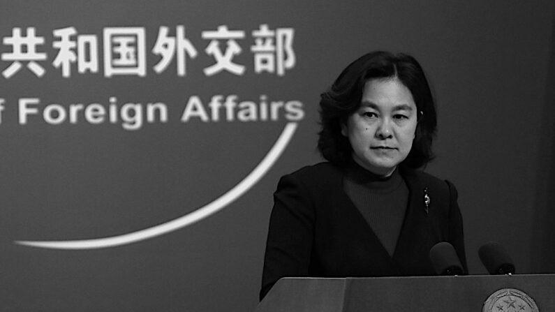 화춘잉 중국 외교부 대변인 | 연합