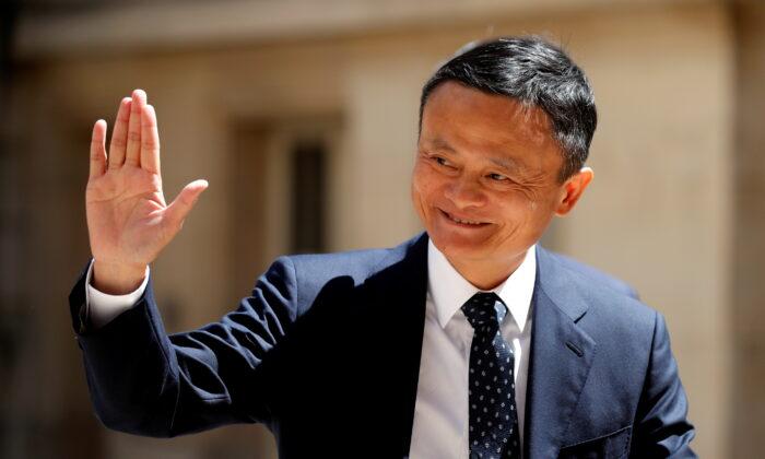 중국 최대 전자상거래 업체 알리바바의 창업자 마윈. | Charles Platiau / Reuters