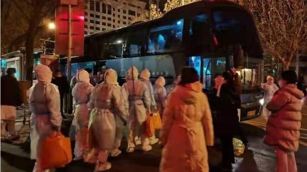 중국 허베이성 랑팡시의 중공 바이러스 확산이 심각한 것으로 알려졌다. | 웨이보 화면 캡처