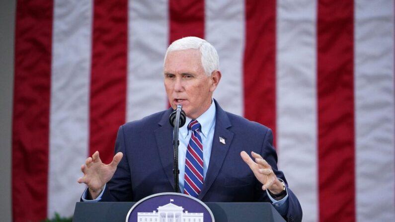 마이크 펜스 미국 부통령 겸 상원의장 | MANDEL NGAN/AFP via Getty Images