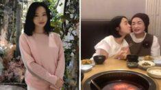 '모친상' 당한 후 어머니 품을 그리워하는 막내딸 이정현
