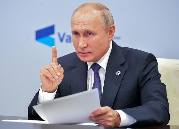 블리디미르 푸틴 러시아 대통령 | 연합